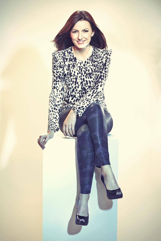Davina McCall - Karan Kapoor Photoshoot