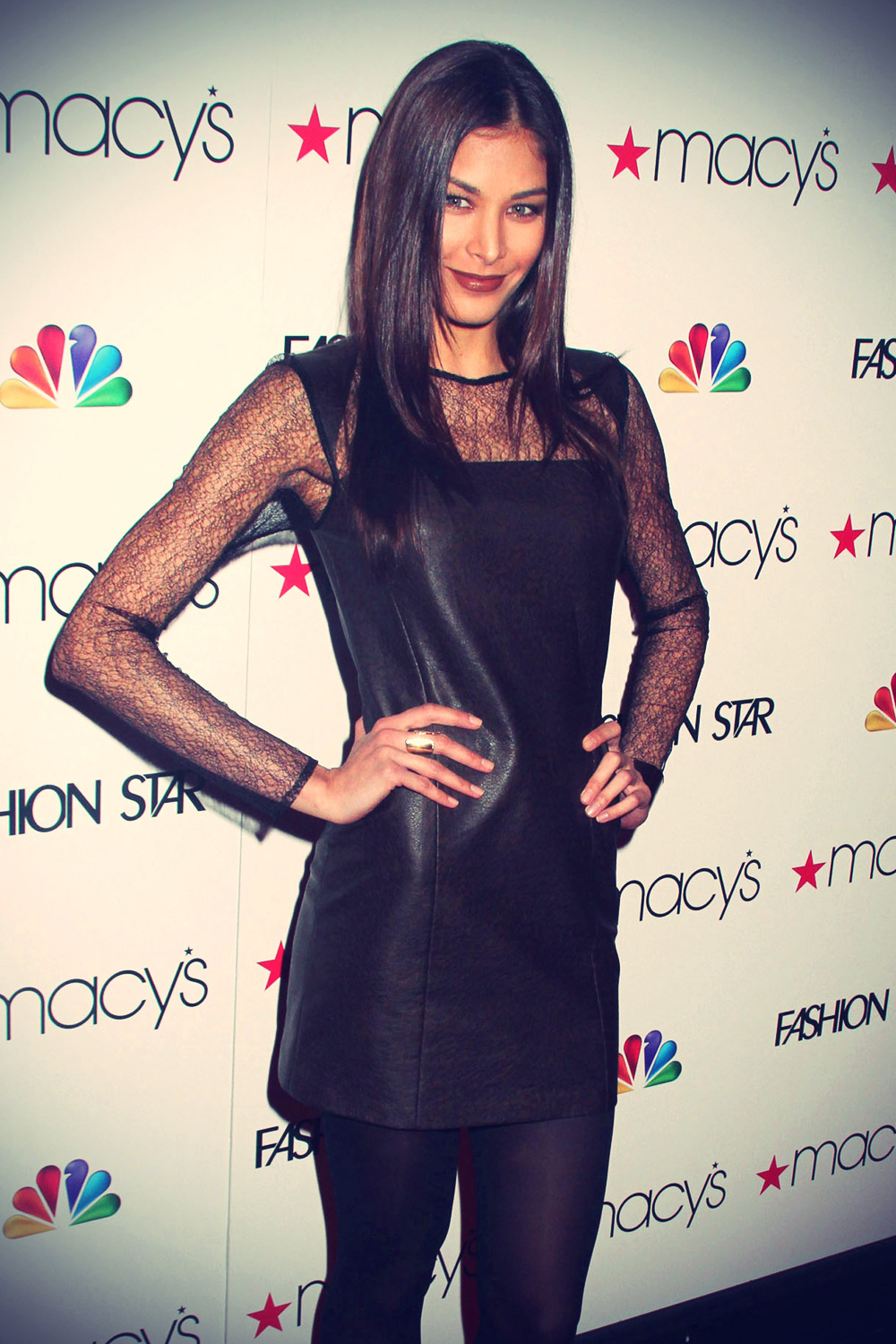 Dayana Mendoza attends NBC's Fashion Star premiere party