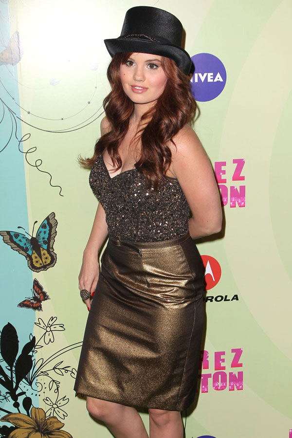 Debby Ryan at Perez Hilton's Mad Hatter Tea Party Birthday Bash in LA