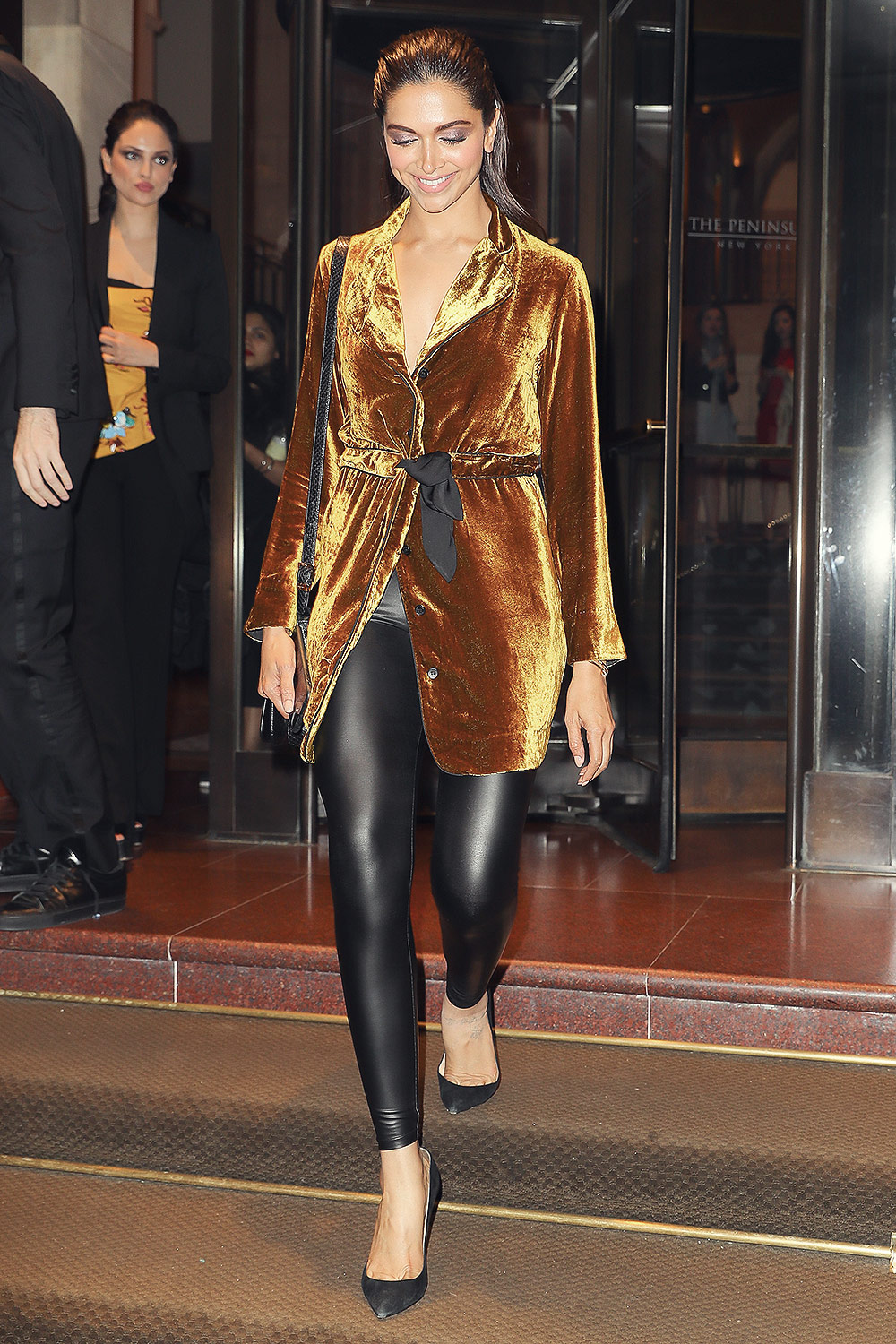 Deepika Padukone out in NYC
