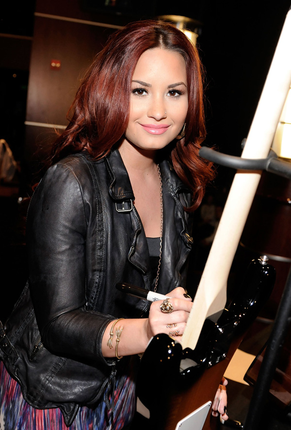 Demi Lovato The 54th Annual GRAMMY Awards at Staples Center