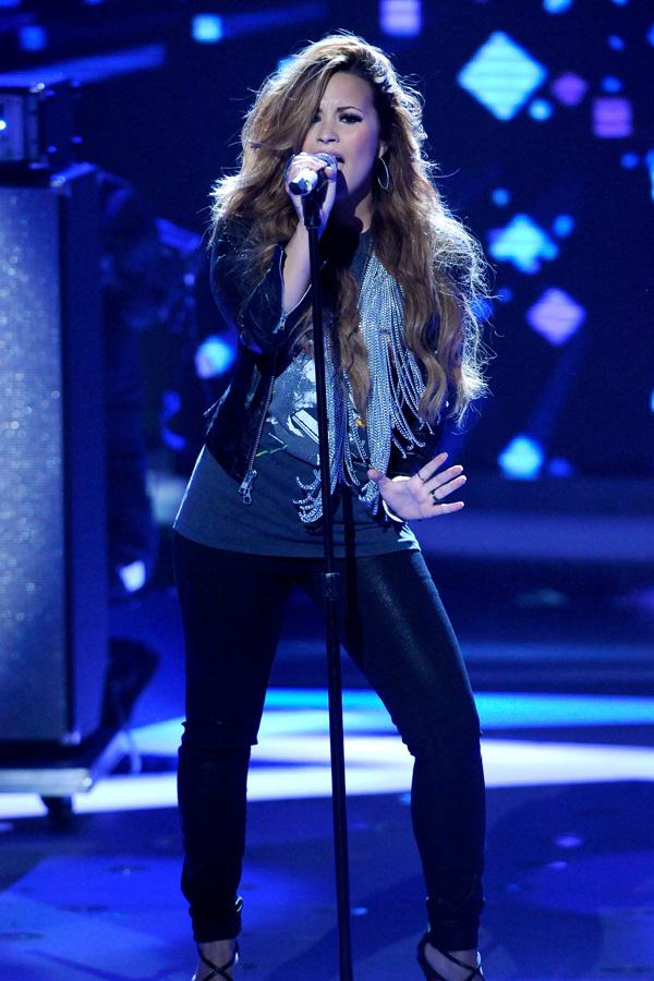 Demi Lovato at American Idol in LA