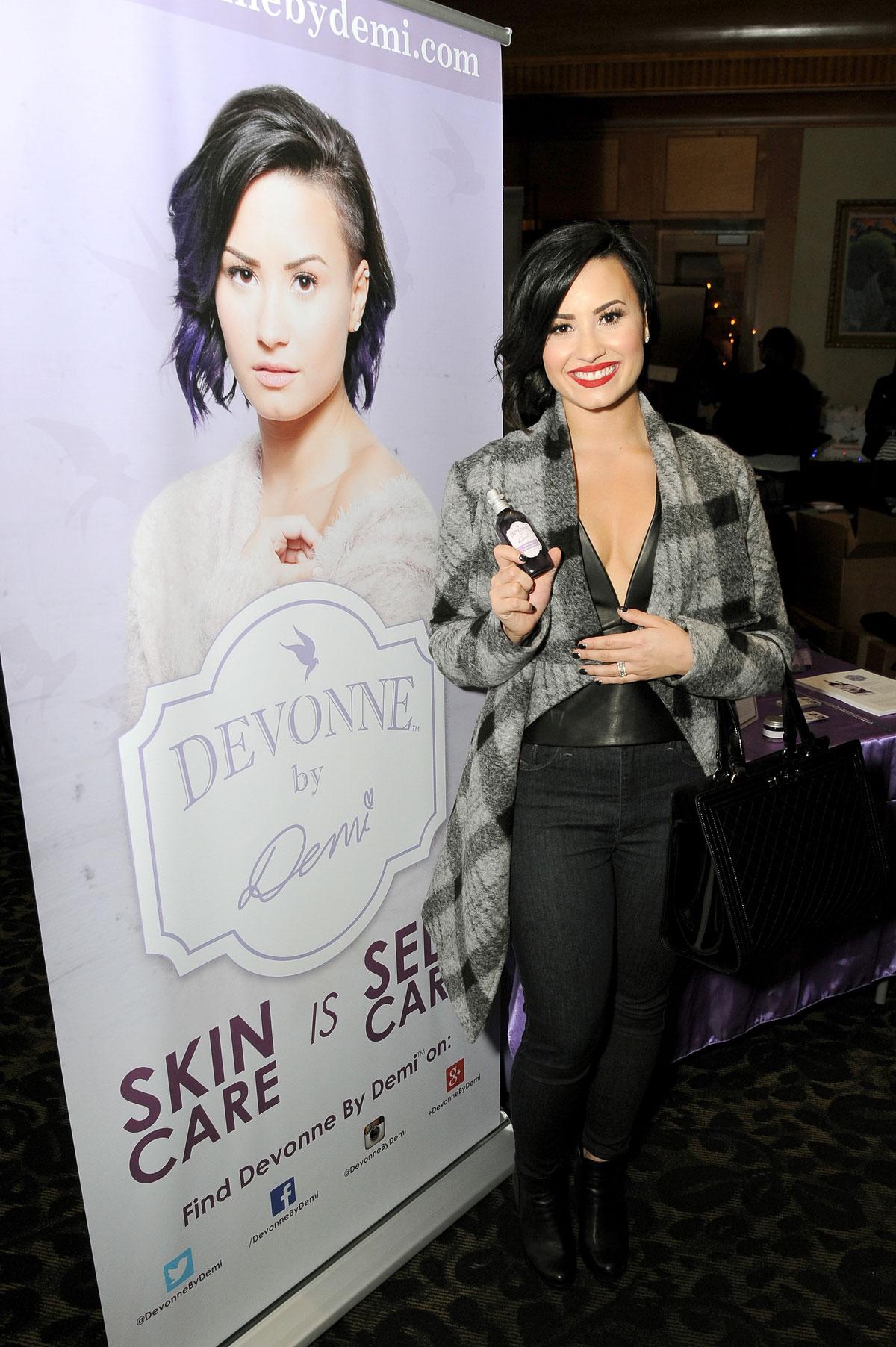Demi Lovato attends KIIS FM Jingle Ball 2014 Gifting Lounge