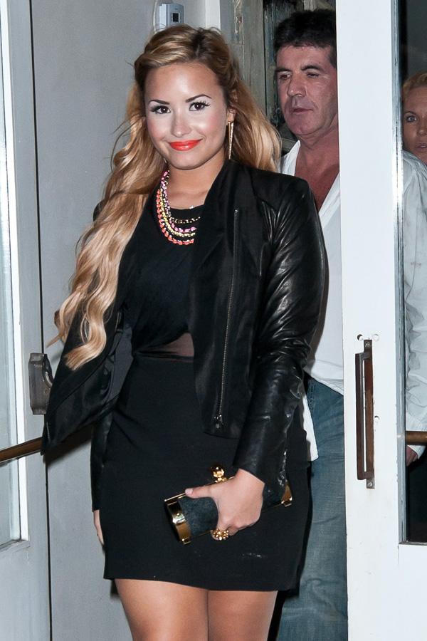 Demi Lovato at ABC Kitchen