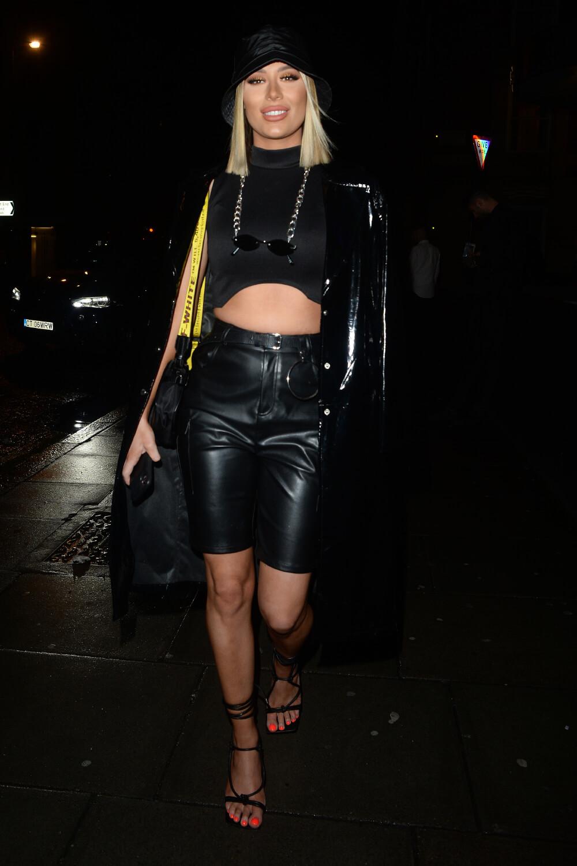 Demi Sims at Hard Rock Hotel Oxford Street