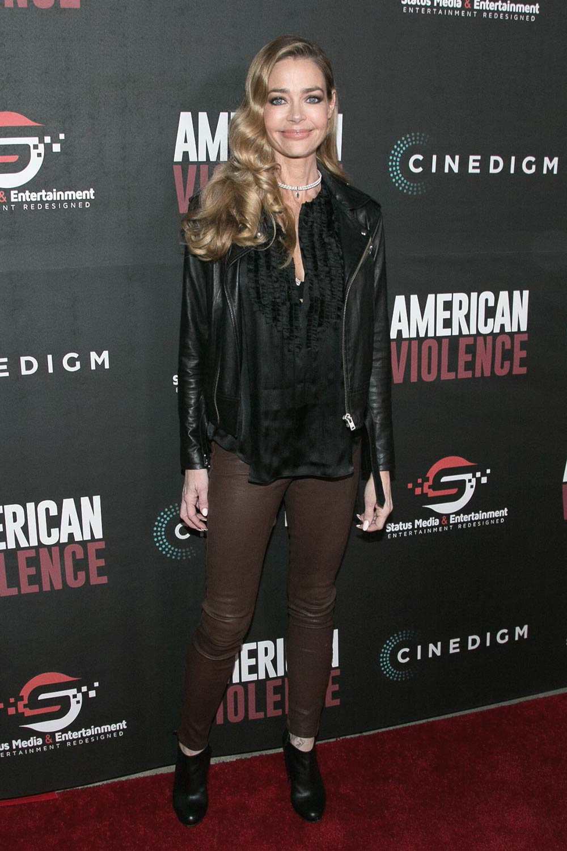 Denise Richards attends premiere of BondIt's American Violence