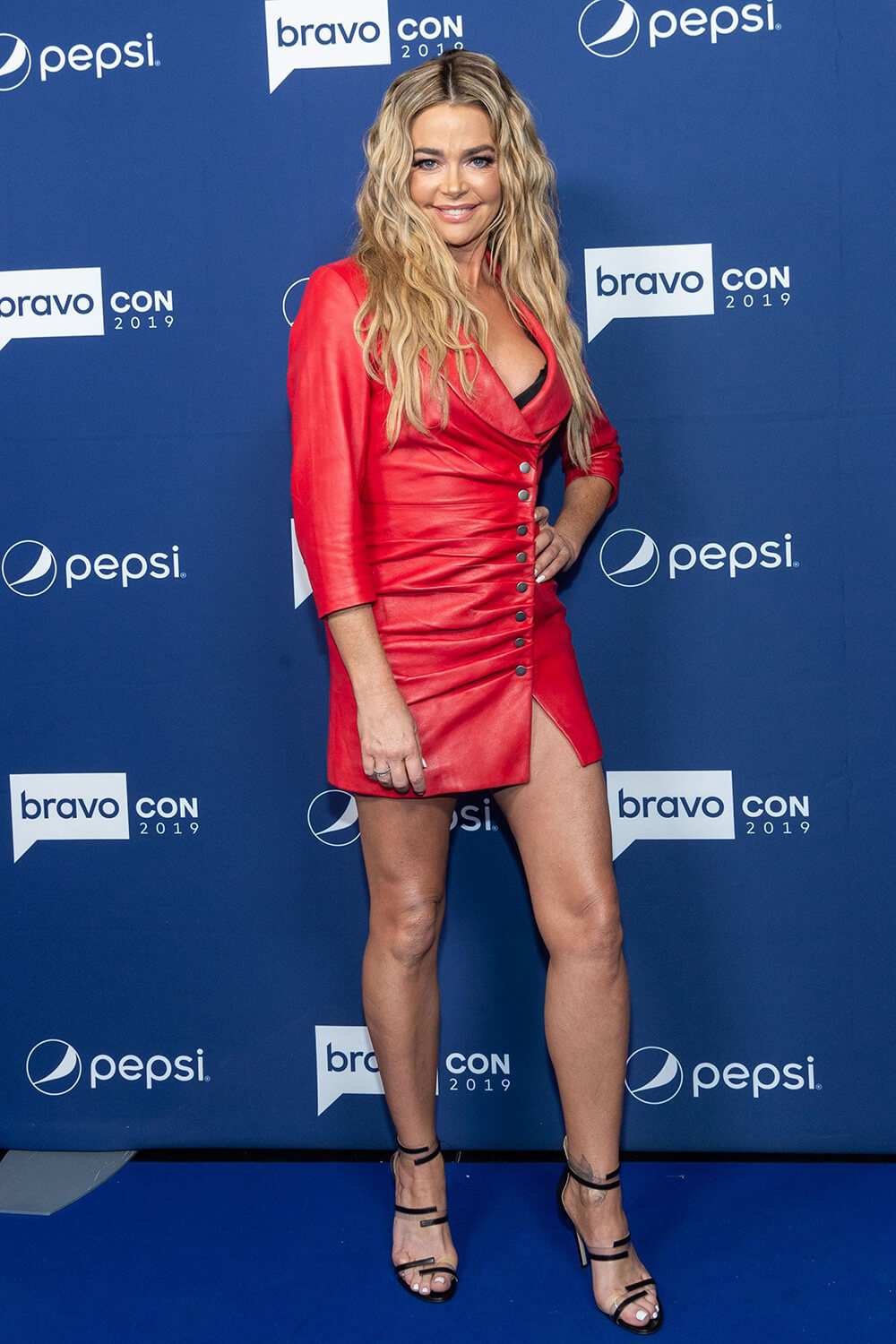 Denise Richards attends Watch What Happens Live