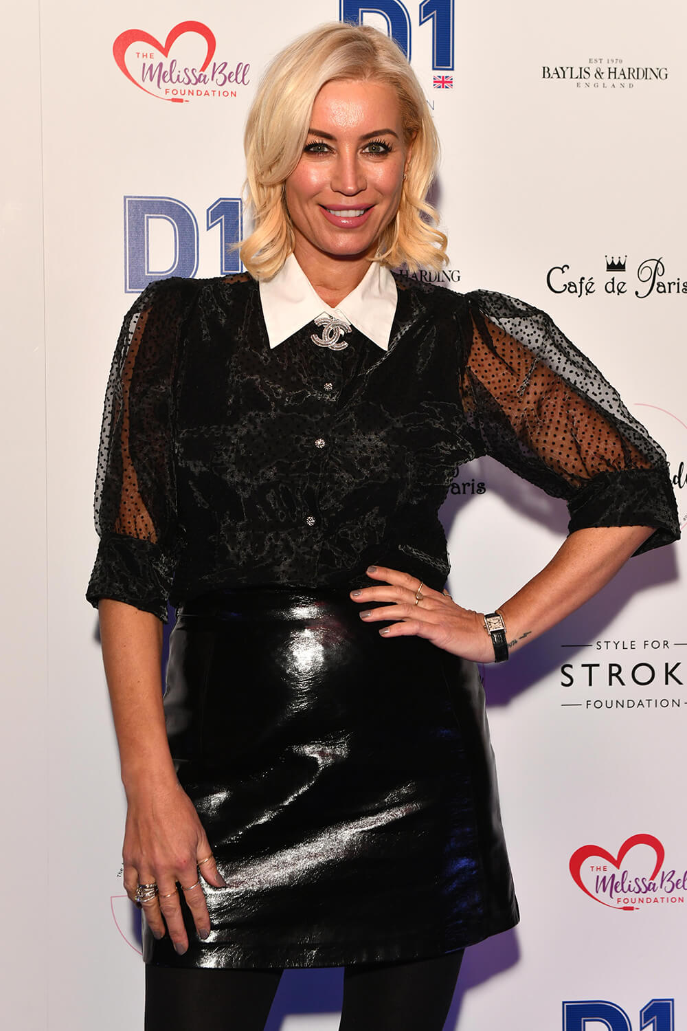 Denise Van Outen attends Style for Stroke Foundation: The Fall Ball