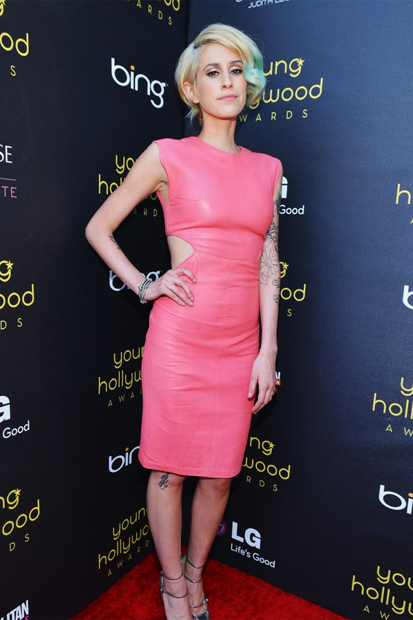 Dev at the 2012 Young Hollywood Awards