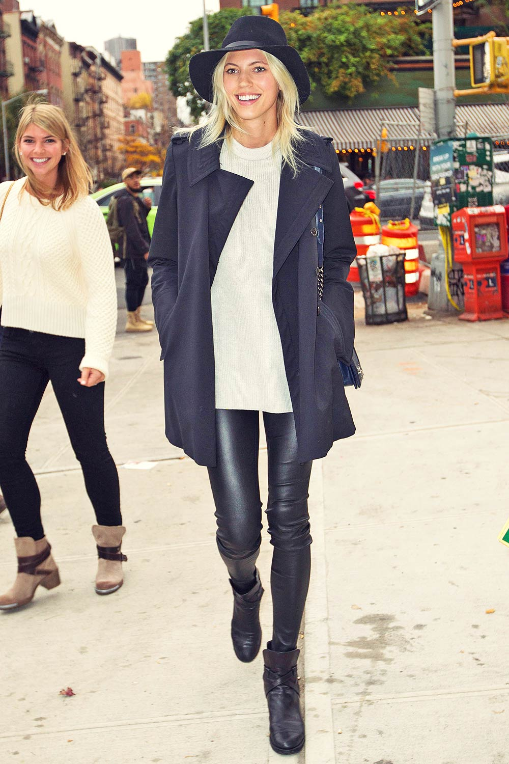 Devon Windsor out and about in New York