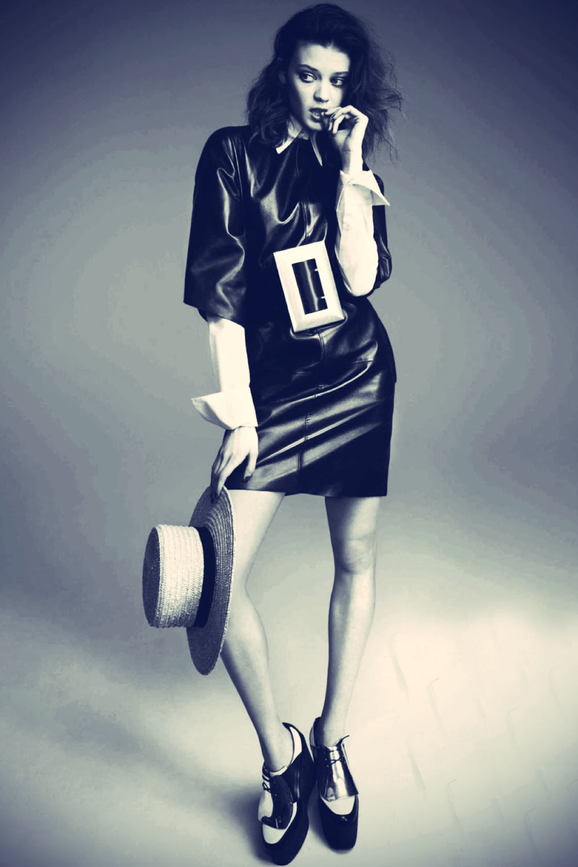 Diana Moldovan in Vogue ES August 2013