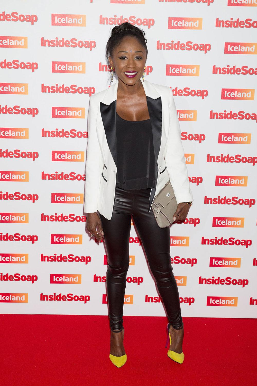 Diane Parish attends The Inside Soap Awards