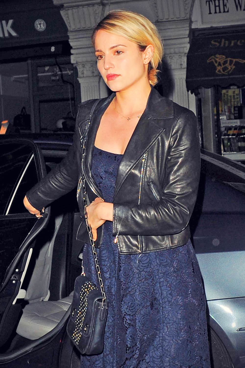 Dianna Agron at the Chiltern Firehouse