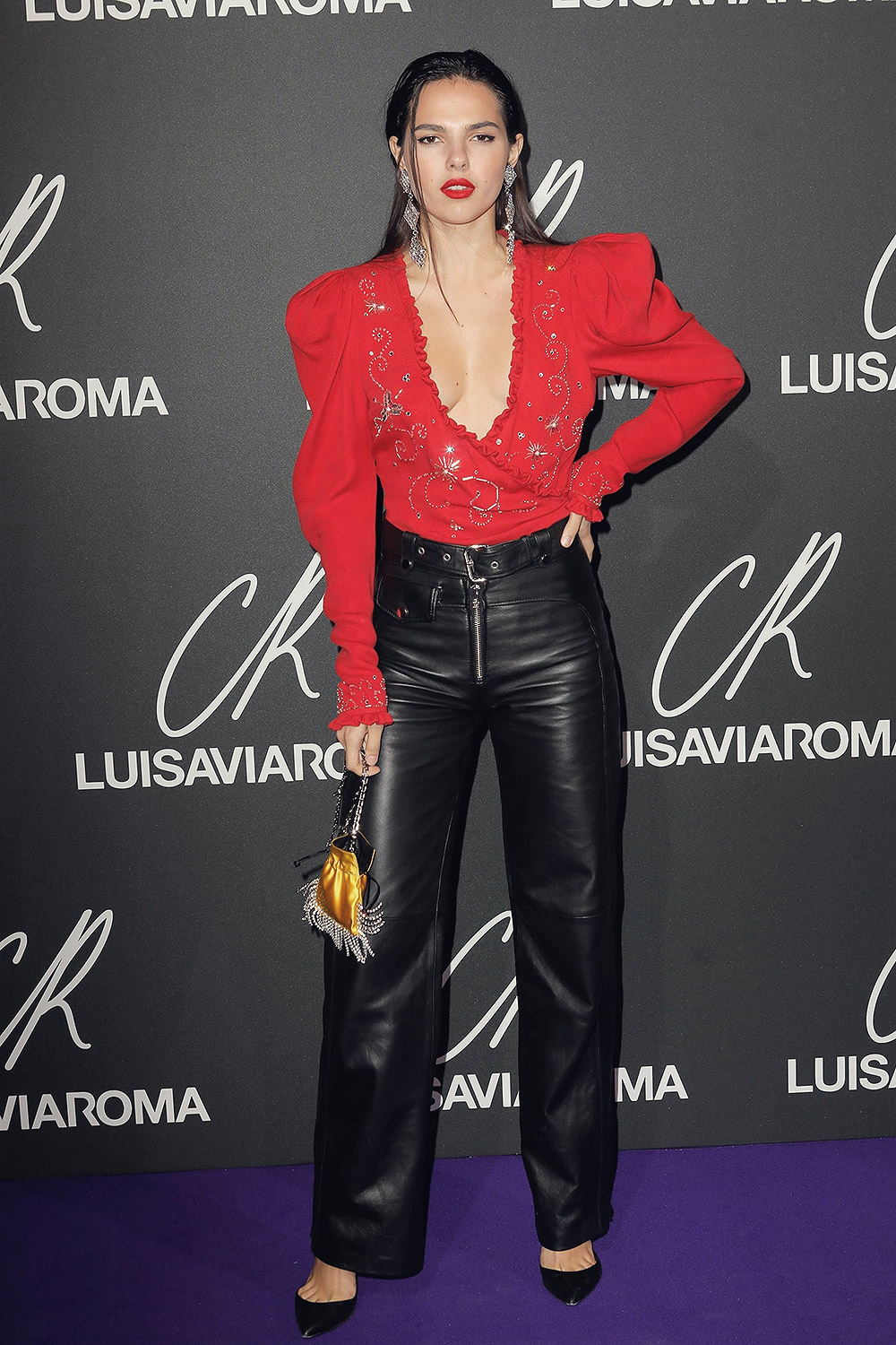 Doina Ciobanu attends Launch of the CR Fashion Book Issue 13