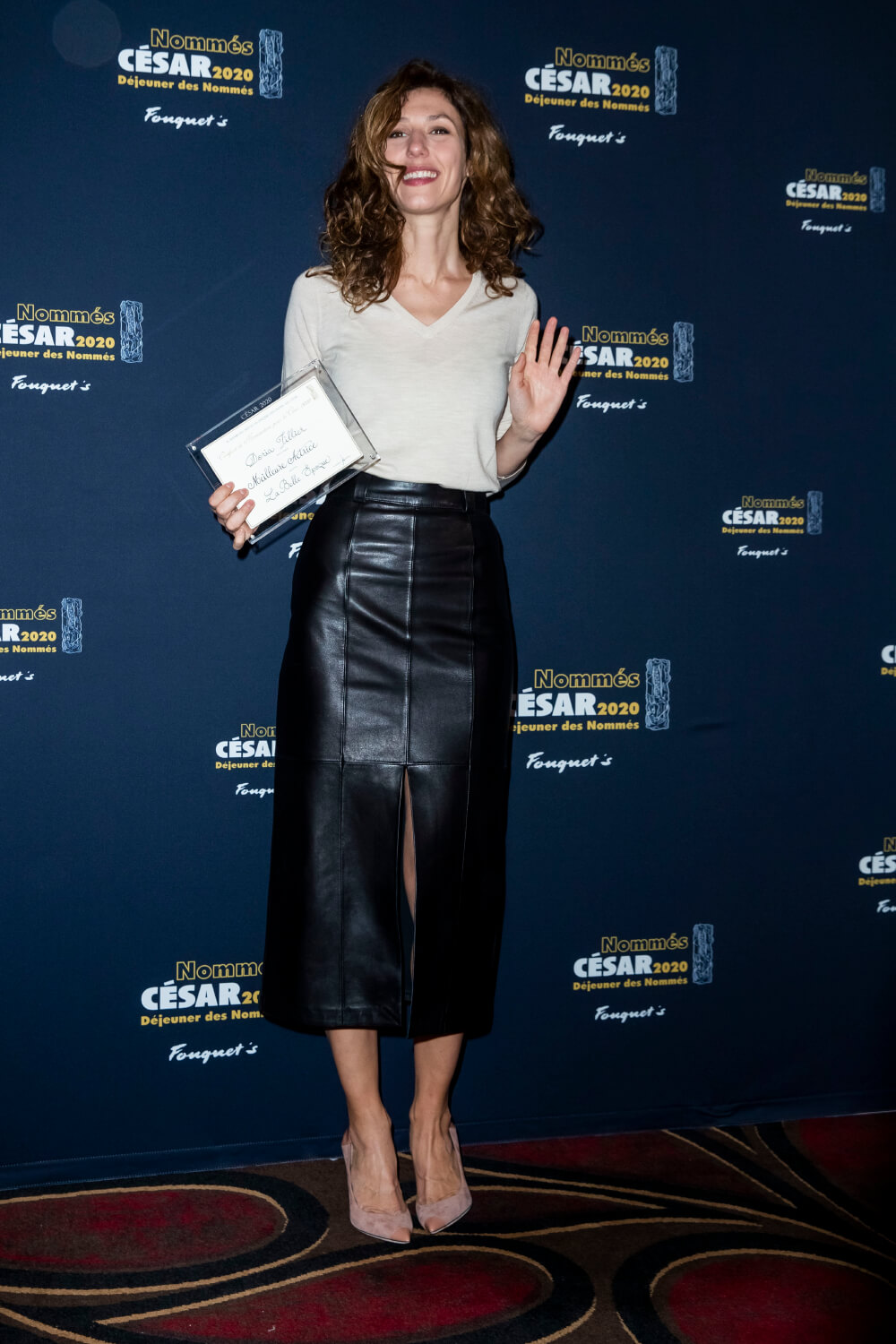 Doria Tillier attending the Cesar 2020 nominee luncheon
