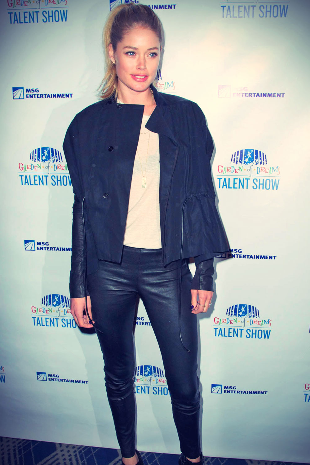 Doutzen Kroes attends 2013 Garden of Dreams Foundation Talent Show