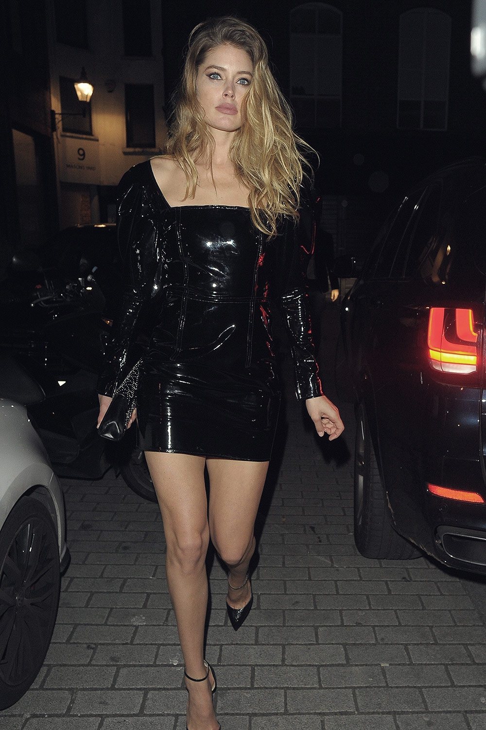 Doutzen Kroes attends Miuccia Prada party