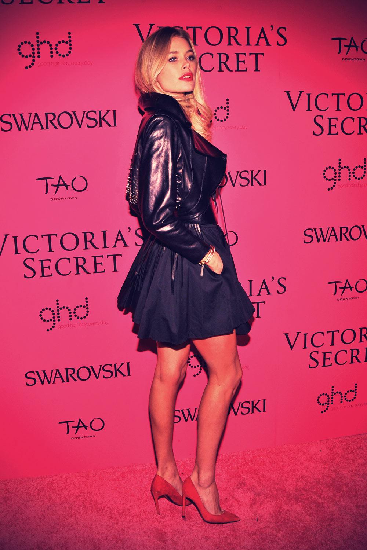 Doutzen Kroes at 2013 Victoria's Secret Fashion Show After Party
