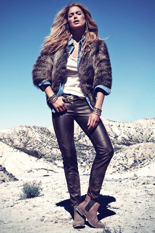Doutzen Kroes for H&M Winter 2013