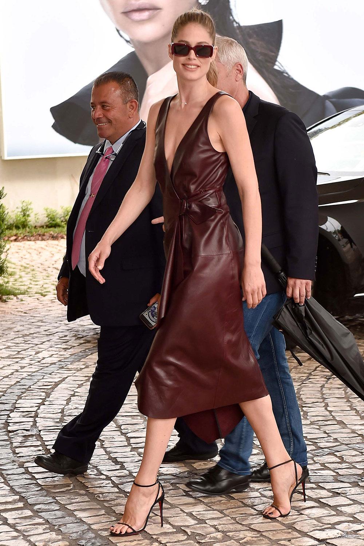 Doutzen Kroes out in Cannes