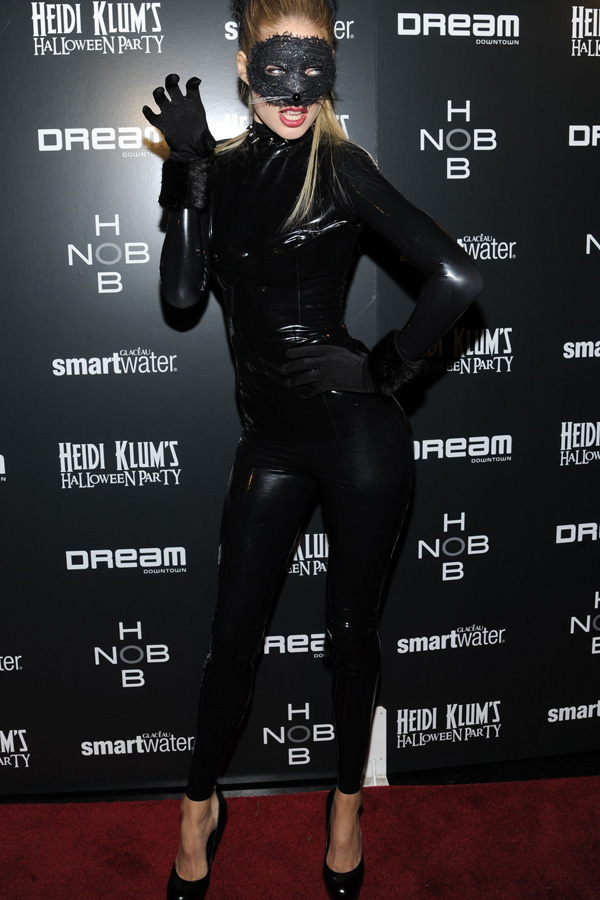 Doutzen Kroes at Heidi Klum's annual Halloween Party in NY