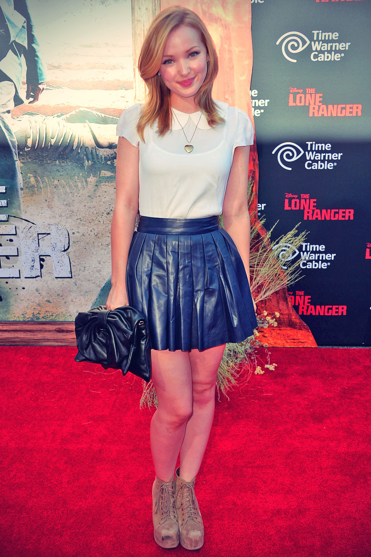 Dove Cameron attends The Lone Ranger Premiere