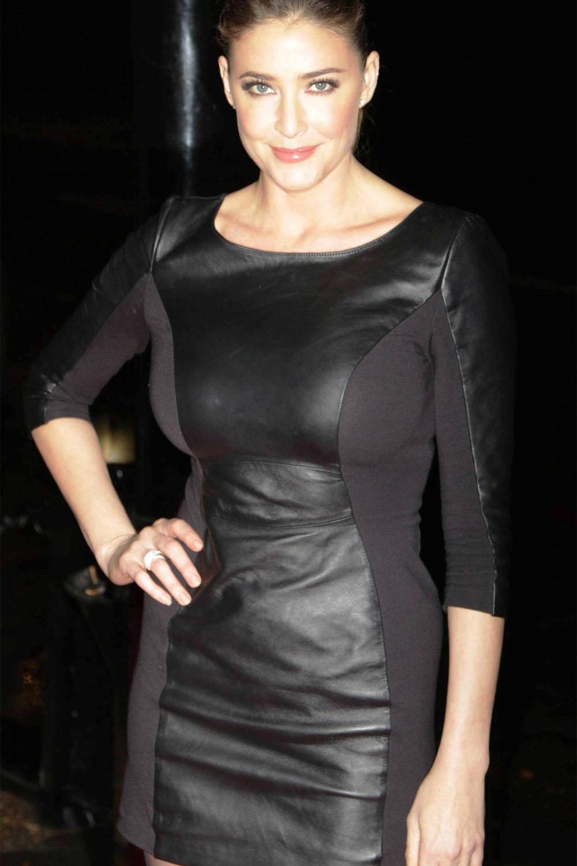Lisa Snowdon at Drapers Awards