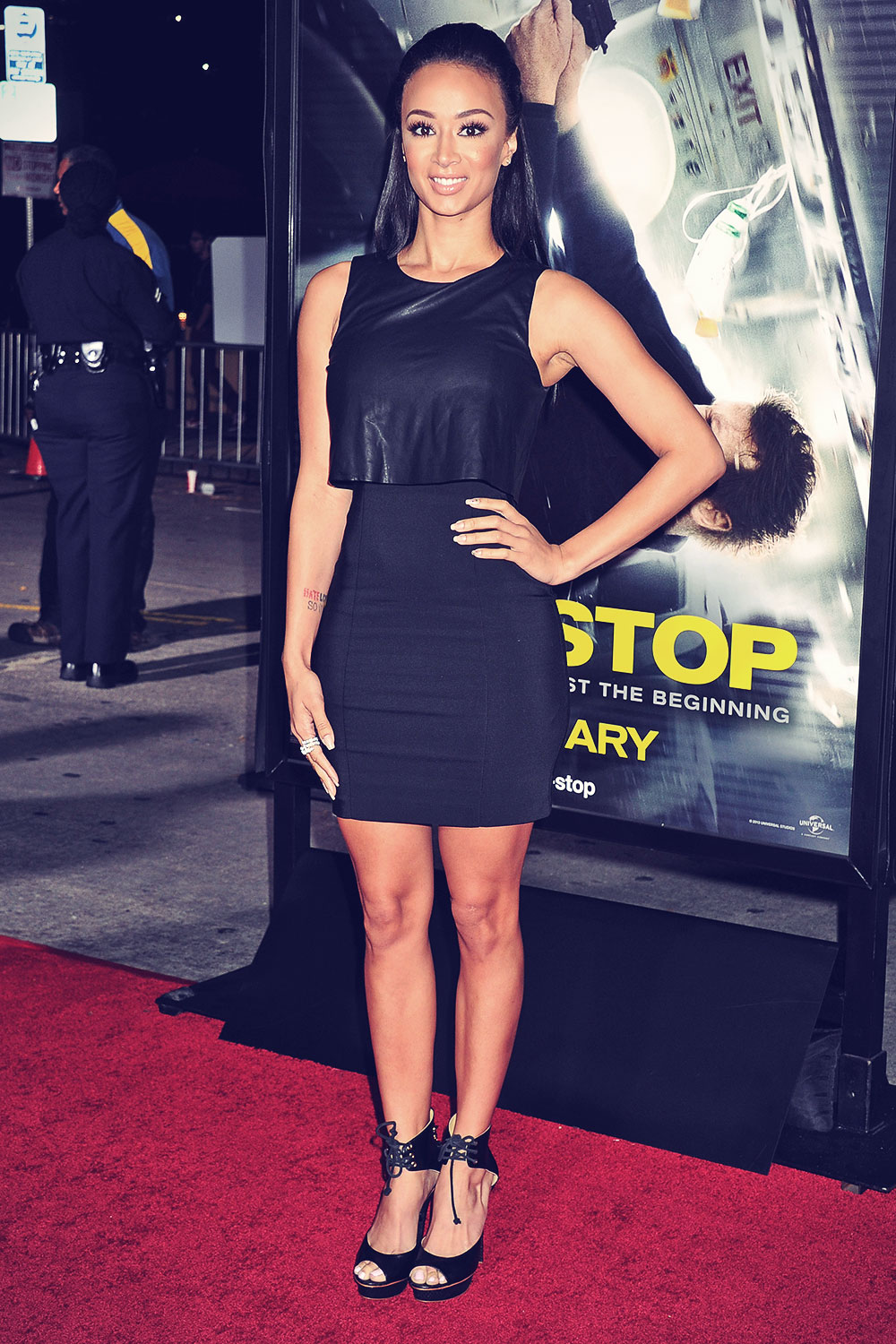 Draya Michele at the Non-Stop Premiere