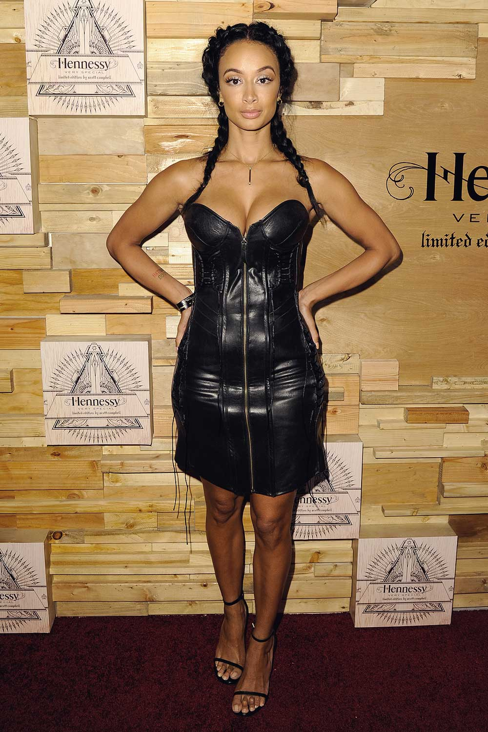 draya michele attends hennessy v s limited edition