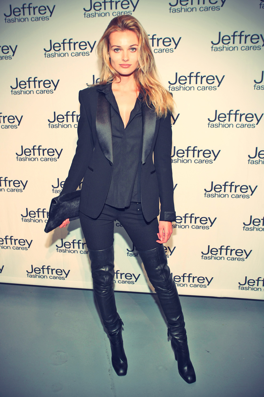 Edita Vilkeviciute at Jeffrey Fashion Cares