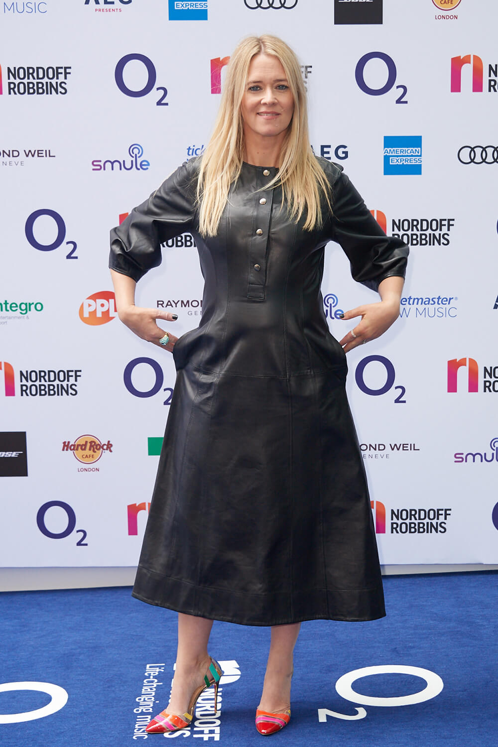 Edith Bowman attends Nordoff Robbins Silver Clef Awards
