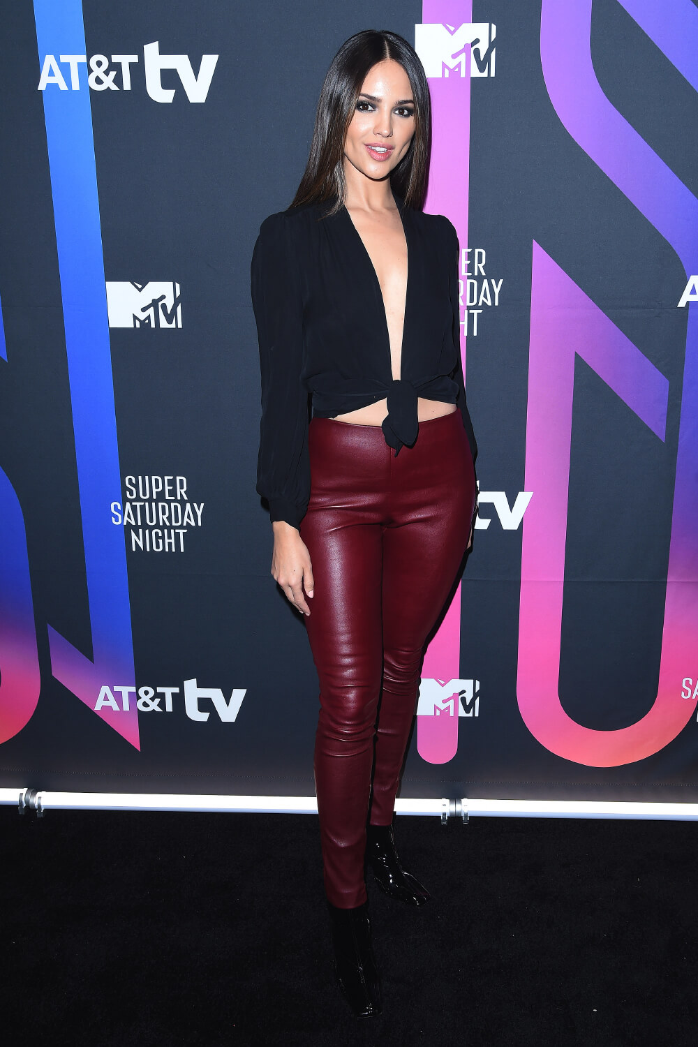 Eiza Gonzalez attends AT&T Super Saturday Night Concert