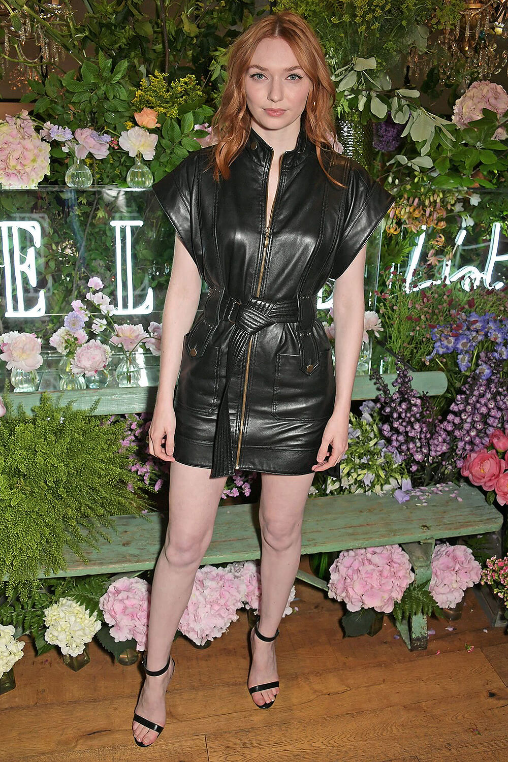 Eleanor Tomlinson attends The ELLE List