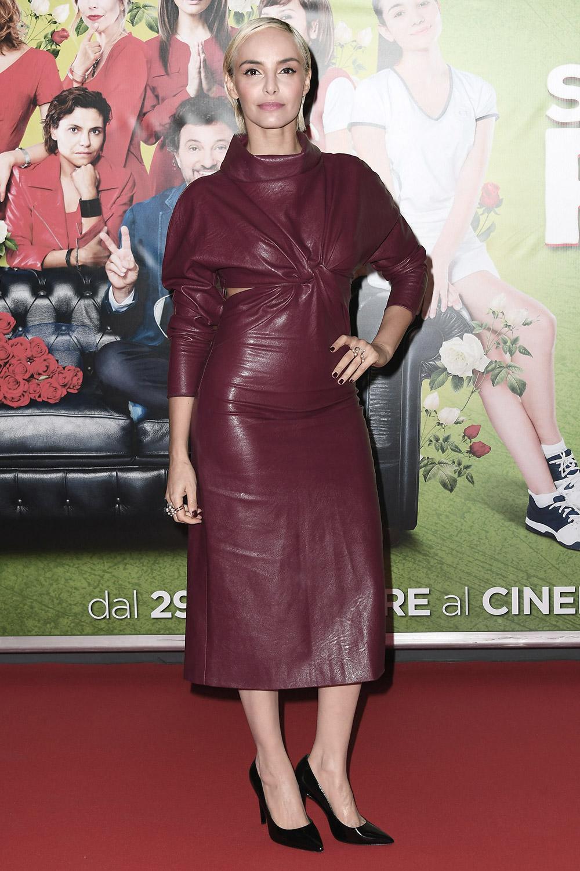 Elena Cucci attends Se son rose film premiere
