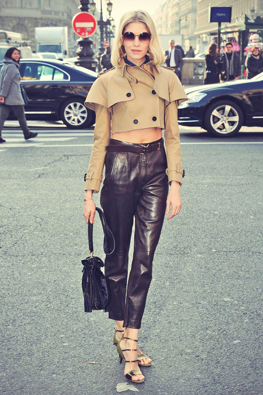 Elena Perminova attends Paris Fashion Week Autumn Winter 2013