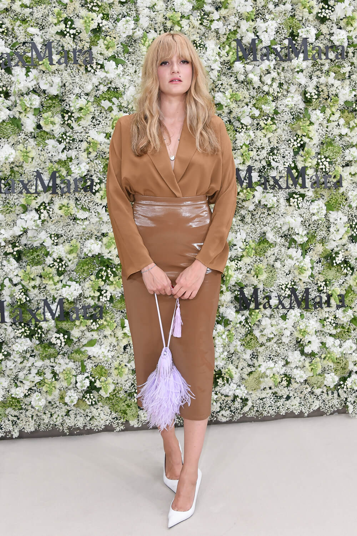 Eleonora Carisi attends Max Mara Resort 2020 Red Carpet Event
