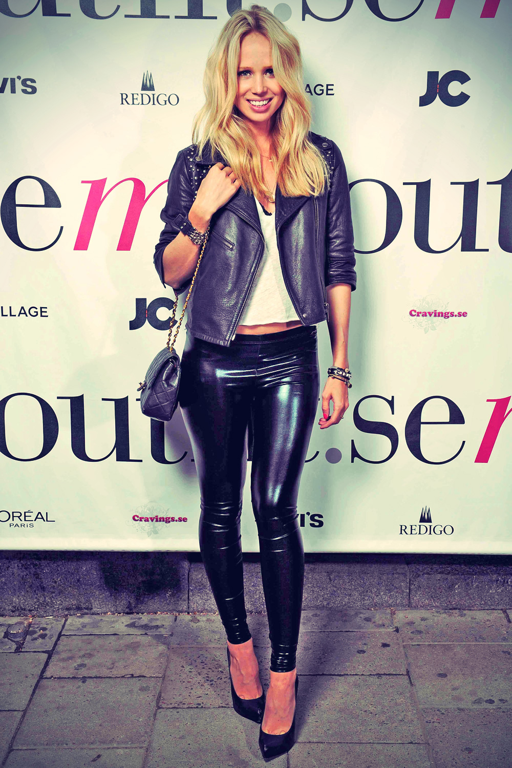 Elin Kling leather mix