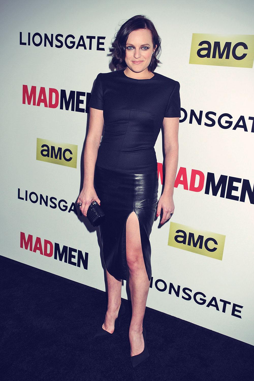 Elisabeth Moss attends AMC Celebrates The Season 7 Premiere Of Mad Men