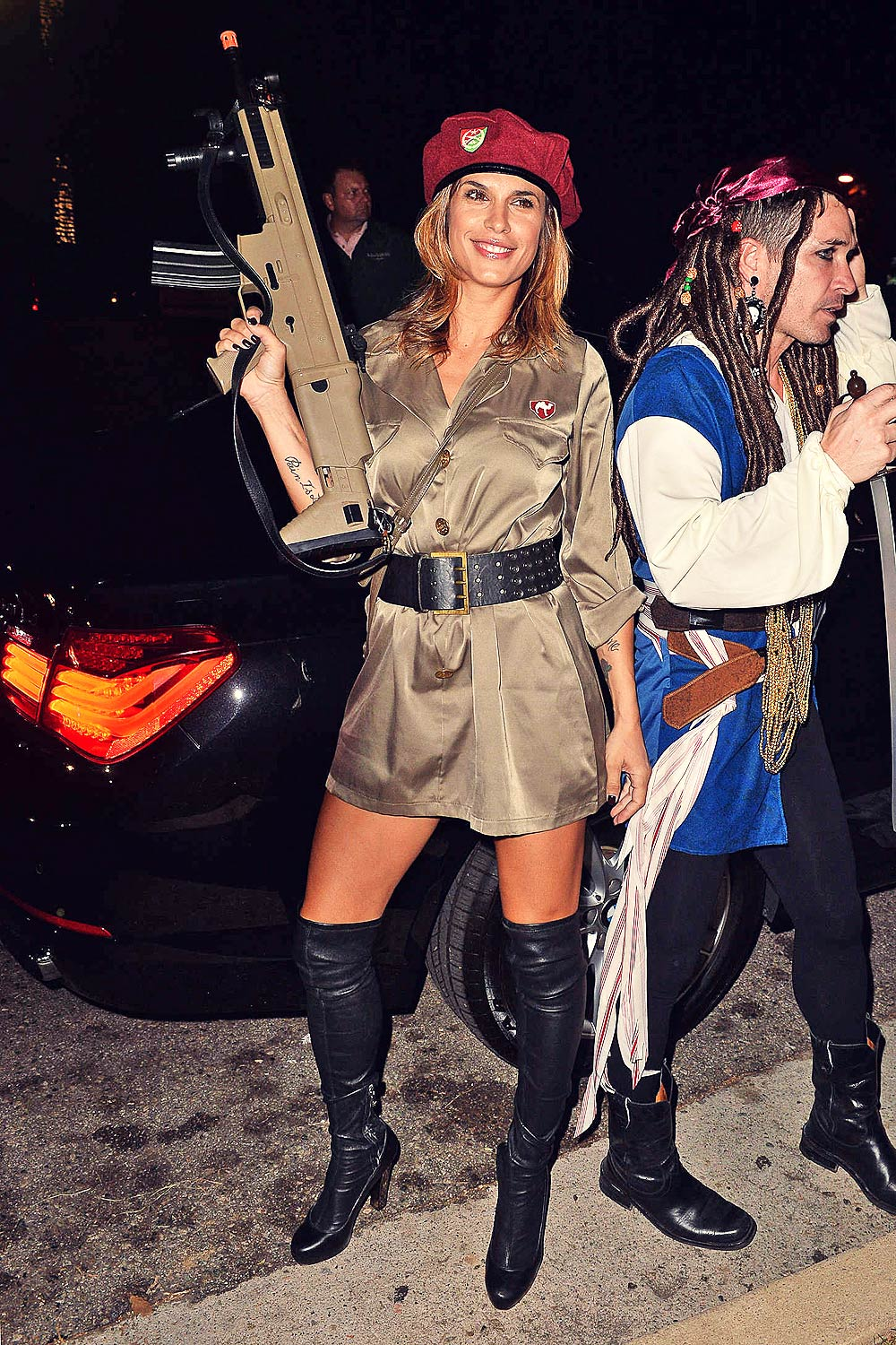 Elisabetta Canalis attends Casa Tequila Halloween Party