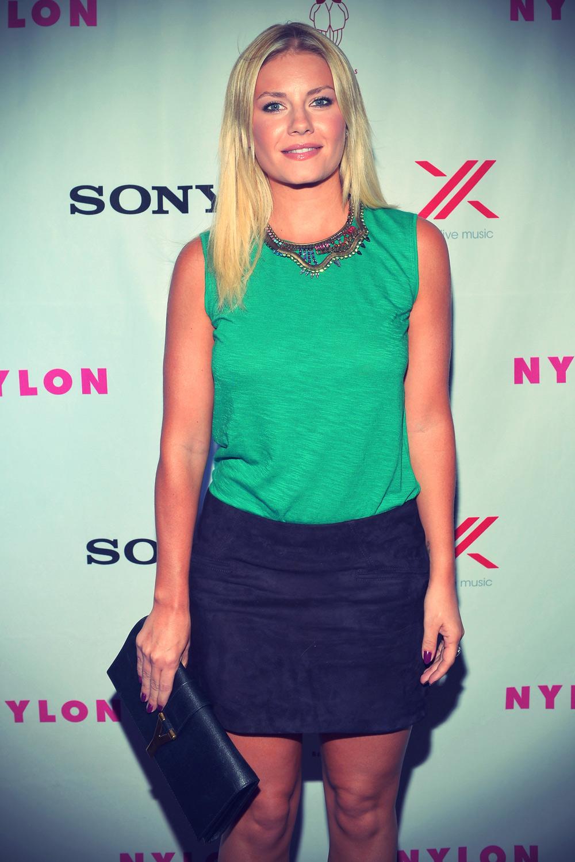 Elisha Cuthbert at Nylon Magazine September TV Issue Party