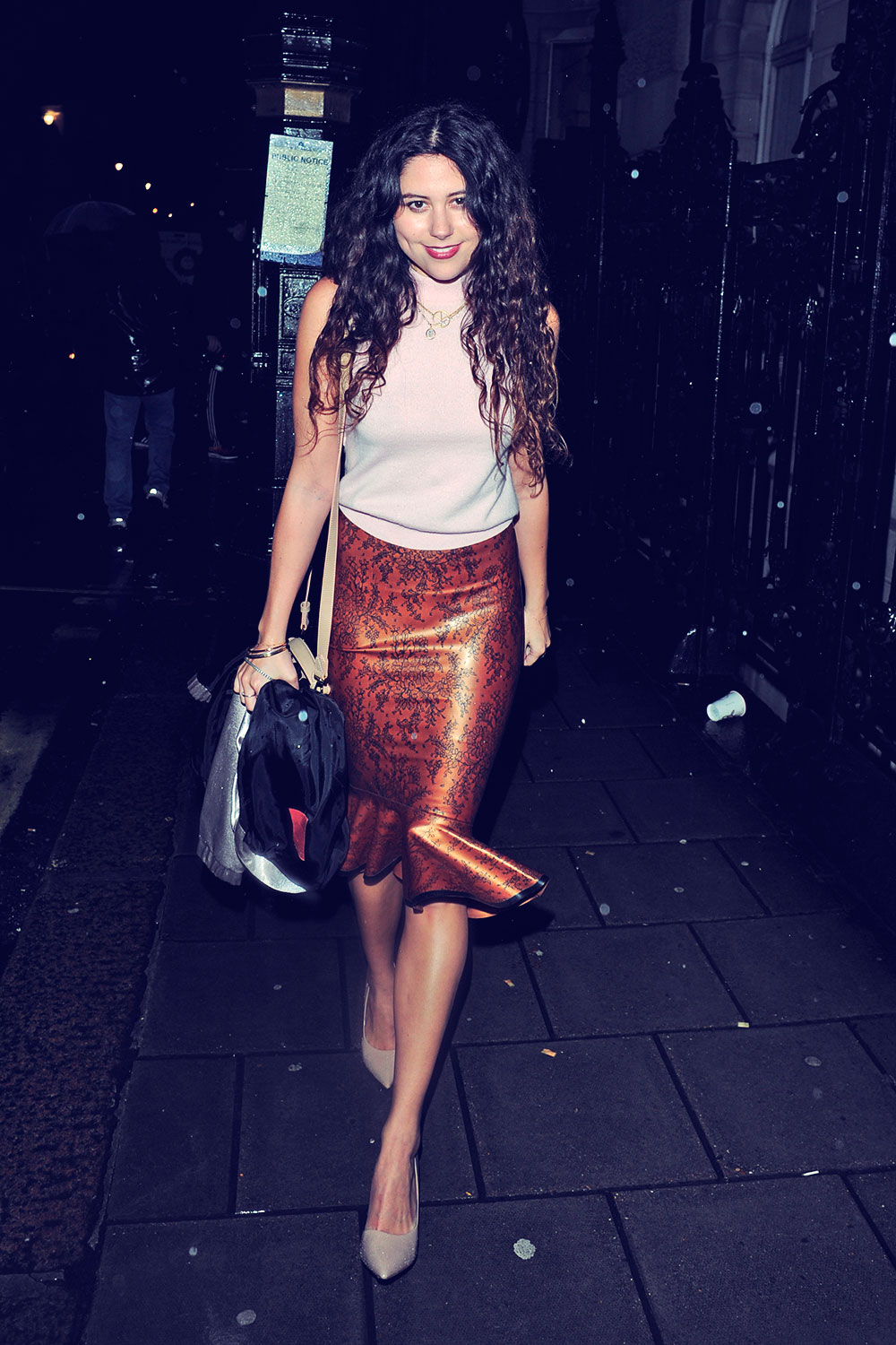 Eliza Doolittle attends InStyle magazine's The Best of British Talent party