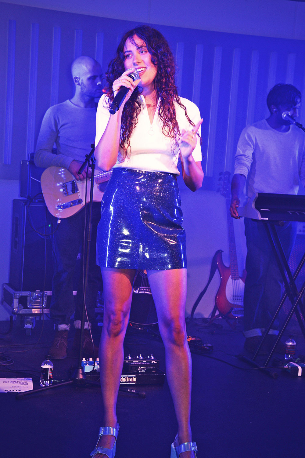 Eliza Doolittle performing at the Audi Polo Challenge