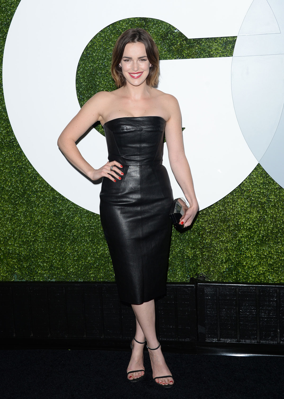 Elizabeth Henstridge attends 2014 GQ Men of the Year Party