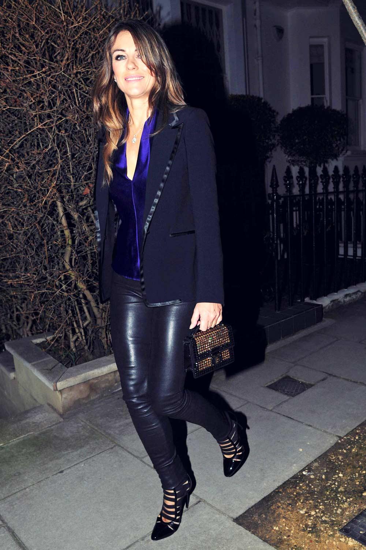 Hurley leather jacket