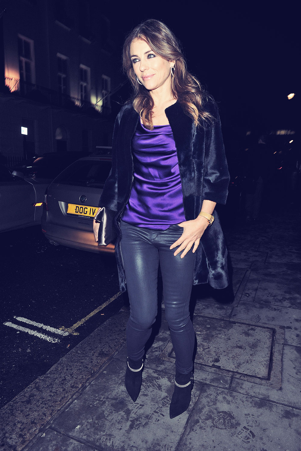 Elizabeth Hurley at the Launch of Amanda Wakeley Flagship Store