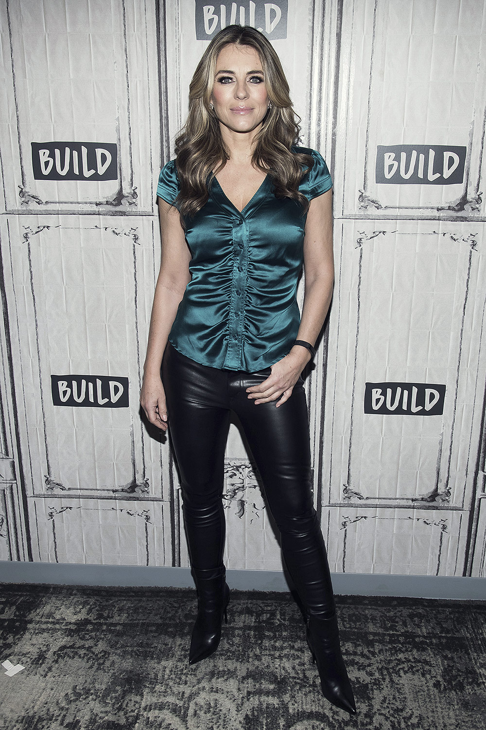 Elizabeth Hurley visits BUILD Series to discuss 'The Royals'