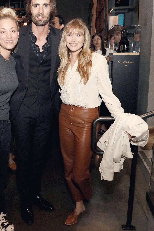Elizabeth Olsen attends EBMRF's Sip, Savor & Support Benefit
