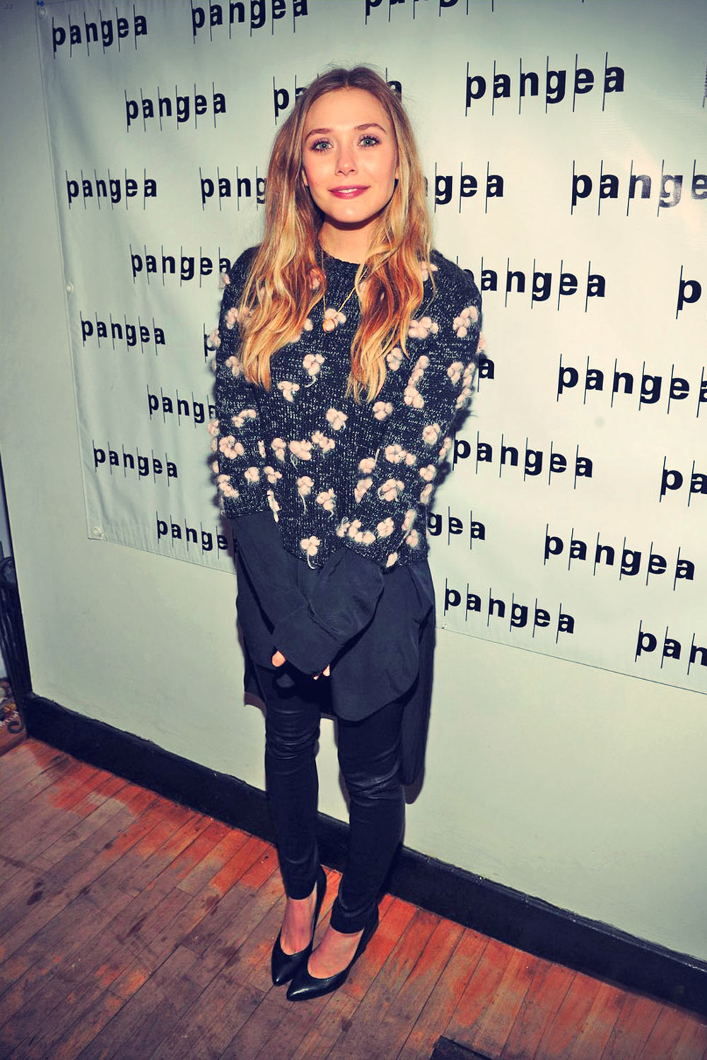 Elizabeth Olsen hits the red carpet while attending the Romeo & Juliet after party