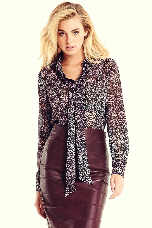 Elizabeth Turner leather