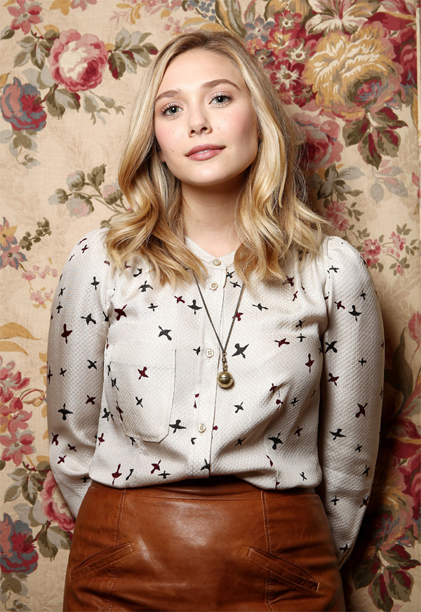 Elizabeth Olsen at TIFF Portrait Session in Toronto